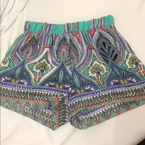 Karlie multi color shorts size S